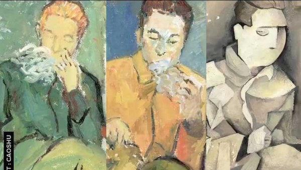 Un viaje por la historia del arte en apenas un minuto